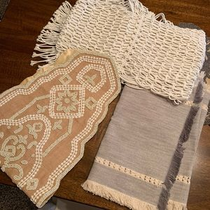 3 Pier 1 table runners
